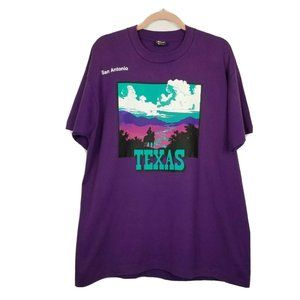 Vintage Texas Graphic t-shirt Tee XL Single stitch